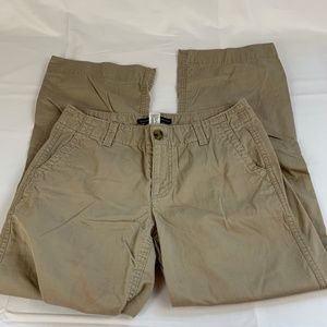 Women's Khaki Pants by the GAP Straight Ankle 2